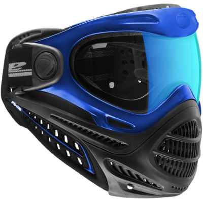 DYE Axis Pro Paintball Thermal Maske (blau) | Paintball Sports