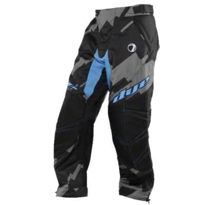 DYE C14 Paintball Hose / Pant (Airstrike Grey blue, XL/2XL) | Paintball Sports