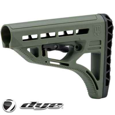 Dye D.A.M. / Assault Matrix UL Stock / Schulterstütze (oliv) | Paintball Sports