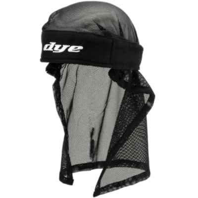 Dye Paintball Head Wrap (Black / schwarz) | Paintball Sports