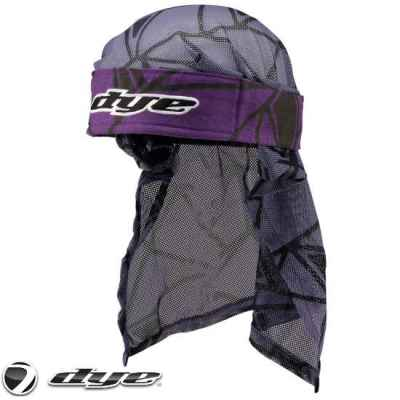 Dye Paintball Headwrap (Infused - Purple/Black/Grey) | Paintball Sports