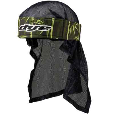 Dye Paintball Head Wrap (Bambu Green) | Paintball Sports