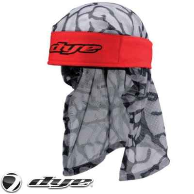 Dye Paintball Headwrap (Rot / Red) | Paintball Sports