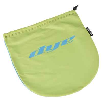 Dye Paintball Maskenbeutel (lime / cyan Dye Logo) | Paintball Sports