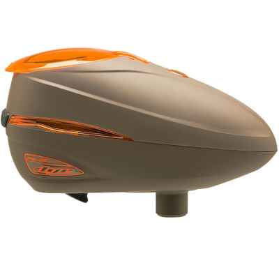 Dye Rotor R-2 Paintball Loader (White/Brown/Orange) | Paintball Sports