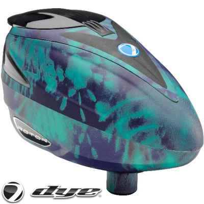 DYE Rotor Paintball Hopper / Loader 2014 PGA (Tie Dye) | Paintball Sports
