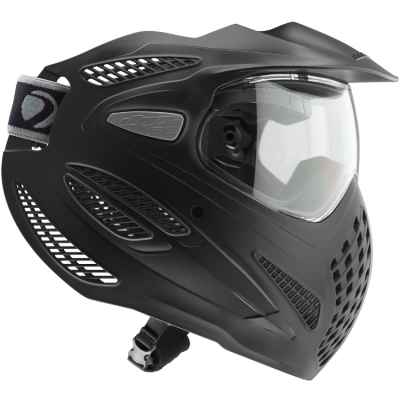 Dye SE RENTAL Paintball Maske, single Lens (schwarz) | Paintball Sports