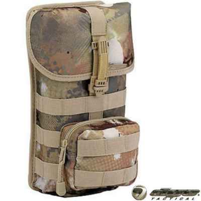 Dye Tactical Doppel Molle Pod Tasche, isoliert (Dyecam) | Paintball Sports