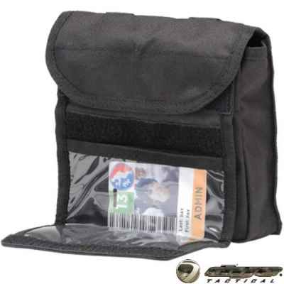 Dye Tactical Admin ID Molle-Tasche 2.0 (schwarz) | Paintball Sports
