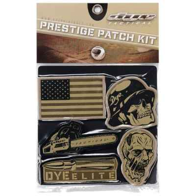 Dye Tactical Prestige Patch Kit (Emblem) | Paintball Sports