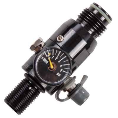 Dynamic Sports Gear Compact Flow HP Regulator (300 Bar) - LP | Paintball Sports