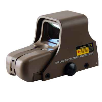 E551 SHORT Holosight Green/Red Dot Visier Replika (tan) | Paintball Sports