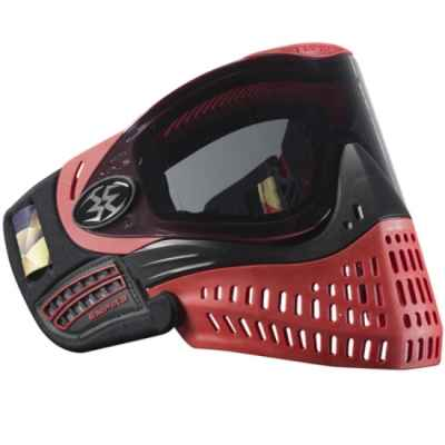 Empire E-Flex Paintball Maske Ltd Edition (schwarz/rot) | Paintball Sports