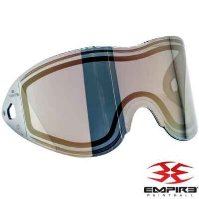 Empire Vents/E-Flex Paintball Thermal Maskenglas (Gold Mirror) | Paintball Sports