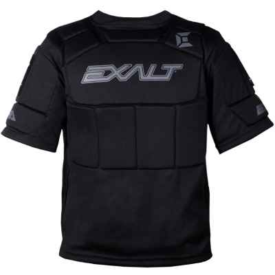 Exalt Alpha Chestprotector / Paintball Brustpanzer (schwarz) | Paintball Sports