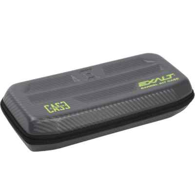 Exalt Carbon Barrel Case, Lauftasche (grau/lime) | Paintball Sports