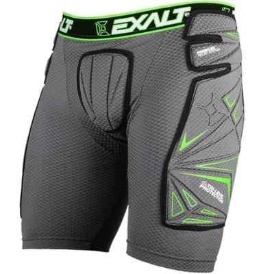 Exalt FreeFlex Paintball Slide Short (grau/grün) | Paintball Sports