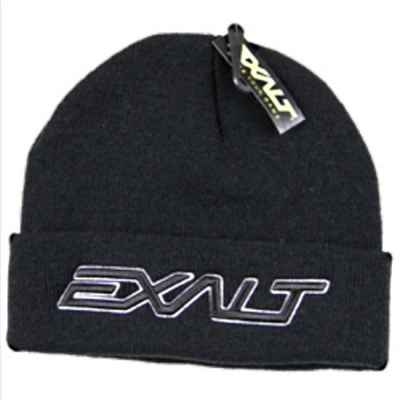 Exalt Paintball Bold Beanie Mütze (schwarz) | Paintball Sports