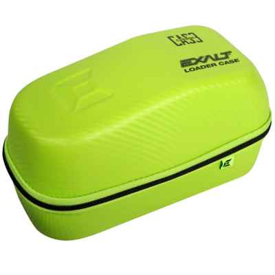 Exalt Carbon Series Loader Case / Hopper Tasche (Lime Green Edition) | Paintball Sports