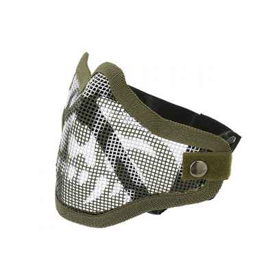 Paintball / Airsoft Face Mask C.O.D. Style (GHOST / oliv) | Paintball Sports