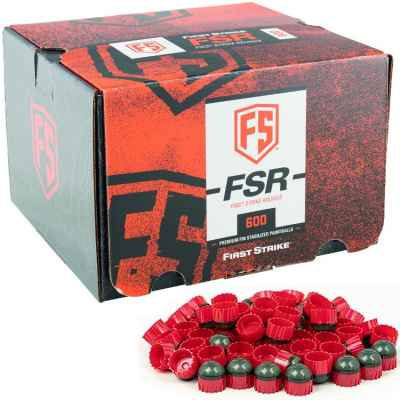 First Strike Paintballs 600 Schuss Box (grau / rot) | Paintball Sports