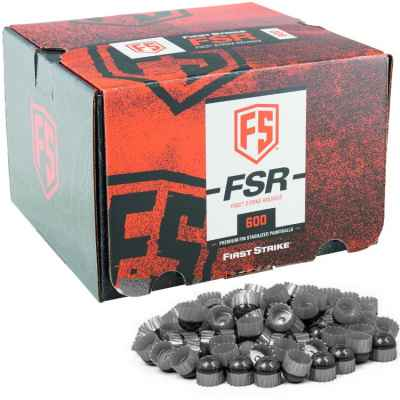 First Strike Paintballs 600 Schuss Box (grau/silber) | Paintball Sports