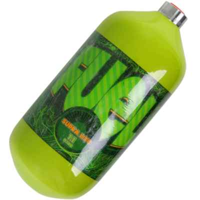 Fuel Supralite 1,1 L Composite HP Flasche (300 Bar) - grün | Paintball Sports