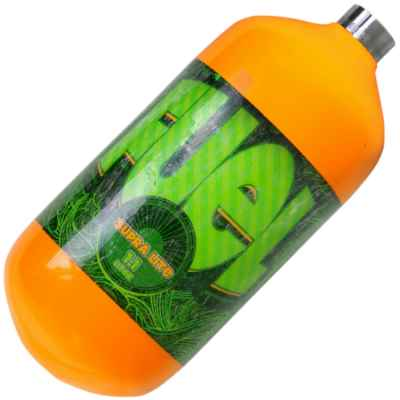 Fuel Supralite 1,1 L Composite HP Flasche (300 Bar) - orange | Paintball Sports