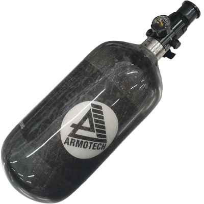 ARMOTECH Supralite DEAL - 1,1L HP System 300 Bar (Flasche + DSG Regulator) | Paintball Sports