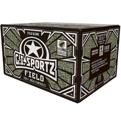 G.I. Sportz Field Paintballs (2000er Karton) | Paintball Sports