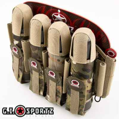 G.I. Sportz Glide 4+5 Paintball Battlepack (Multicamo) | Paintball Sports