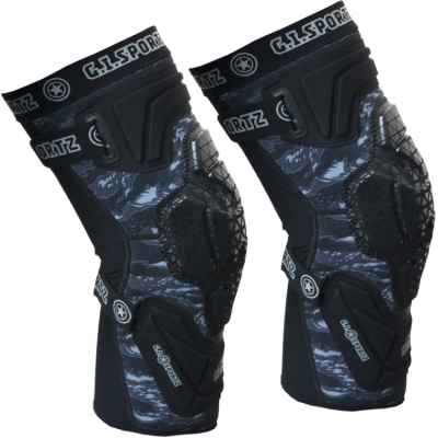 GI Sportz Race Paintball Kneepads / Knieschonerr (schwarz) | Paintball Sports