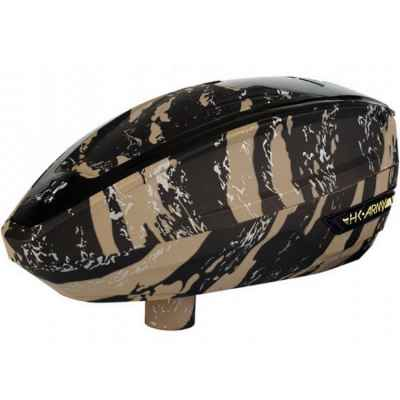 HK Army TFX Paintball E-Hopper (Fracture Sandstorm - tan) | Paintball Sports