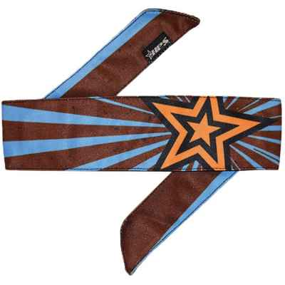 HPS Paintball Head Band (Stardust - blau/braun) | Paintball Sports