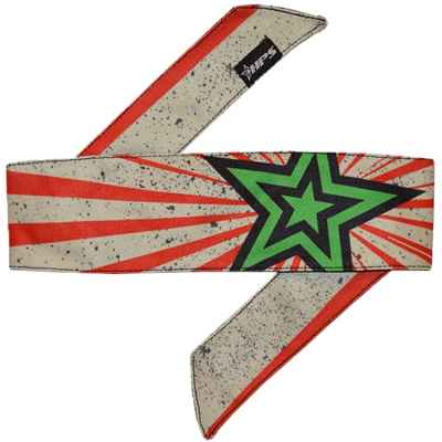 HPS Paintball Head Band (Stardust - rot/grau) | Paintball Sports