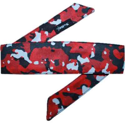 HPS Paintball Head Band (Red Camo) | Paintball Sports