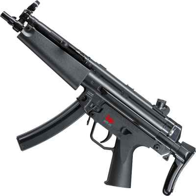 Heckler & Koch MP5 A5 EBB Airsoft Maschinenpistole (schwarz) | Paintball Sports