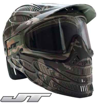 JT Spectra Flex 8 Thermal Maske - Full Cover (Camo) | Paintball Sports