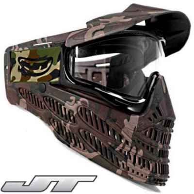 JT Spectra Flex 8 Thermal Maske (camo) | Paintball Sports