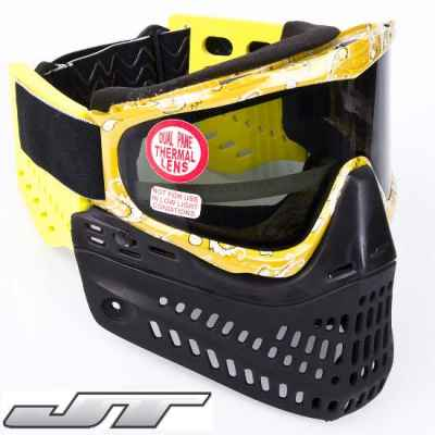 JT Spectra Proflex EPS Paintball Thermal Maske (gelb) | Paintball Sports