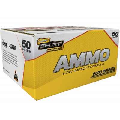 JT Splatmaster Ammo Cal. 50 Low Impact Paintballs (2000er Karton) | Paintball Sports