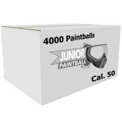 Kids PREMIUM Paintballs / Kinder Paintball Kugeln Cal. 50 (4000er Karton) | Paintball Sports