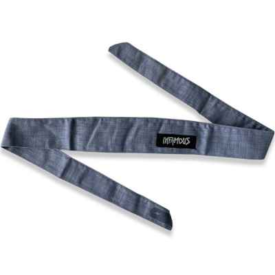 L.A. Infamous PRO DNA Headband (Heather Grey) | Paintball Sports