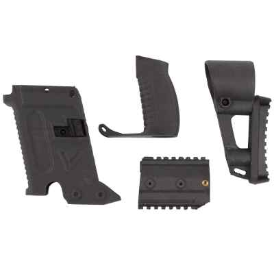 Milsig M17 Victor Kit / Vector SMG Umbau Kit (Carbon) | Paintball Sports