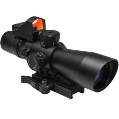 NcSTAR MK3 3-9x42 Scope mit micro RedDot | Paintball Sports
