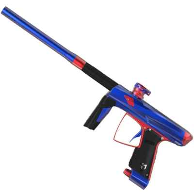 MacDev Clone 5S Infinity Paintball Markierer (Blau/rot) | Paintball Sports