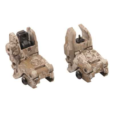 Magpul MBUS Flip Top Replika Sights (Digital Desert Camo) | Paintball Sports