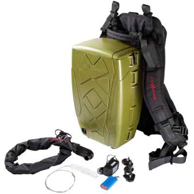 Maxxloader Paintball Hopper / Rucksack Magazin (2000 Schuss) - oliv | Paintball Sports