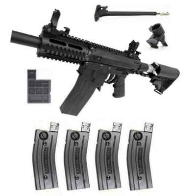 Milsig M17 CQC A2 Players Pack / Komplettset (schwarz) | Paintball Sports