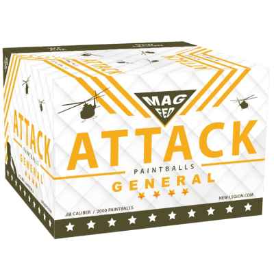 New Legion Attack General Magfed Paintballs 2000er Karton | Paintball Sports